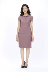 Đầm ôm cổ sen KK89-23