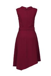 Đầm đi tiệc cổ đan - tông kèm đai eo KK90-28