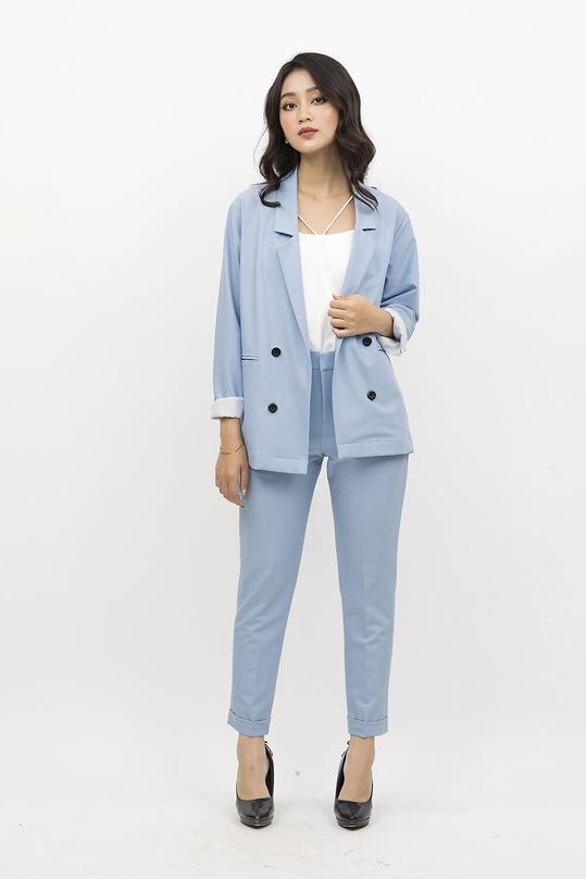 Áo khoác blazer dài tay