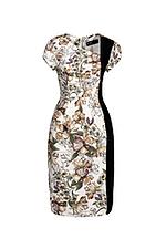 Đầm ôm body họa tiết hoa