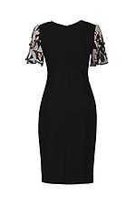 Đầm đen dáng ôm nhẹ tay phồng
