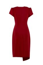 Đầm ôm body nhấn eo tùng váy đắp xéo