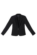 Áo khoác blazer dáng ôm màu đen