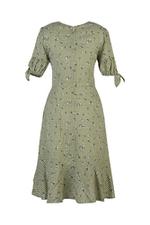 Đầm vạt chéo wrap dress cổ V