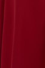 Đầm peplum dáng xòe phối nơ eo