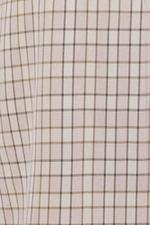 Đầm caro cổ đan tông nhấn nơ eo
