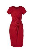 Đầm đỏ dáng ôm body xoắn eo