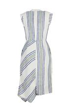 Đầm quấn wrap dress họa tiết kẻ sọc
