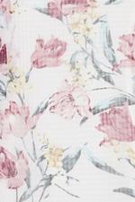 Đầm voan hoa dáng đuôi cá