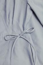 Đầm wrap dress tay lỡ cổ V
