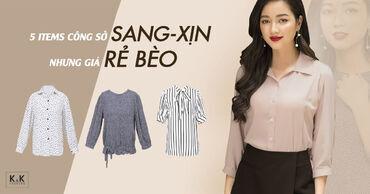 """5 items công sở """"sang-xịn"""" nhưng giá """"rẻ bèo"""""""