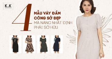 4 mẫu váy đầm công sở đẹp mà nàng nhất định phải sở hữu