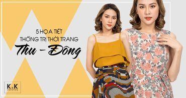 5 họa tiết thống trị thời trang Thu - Đông