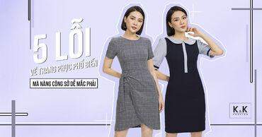 5 lỗi về trang phục phổ biến mà nàng công sở dễ mắc phải