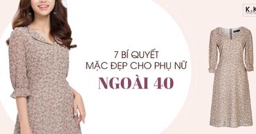 7 bí quyết mặc đẹp cho phụ nữ ngoài 40
