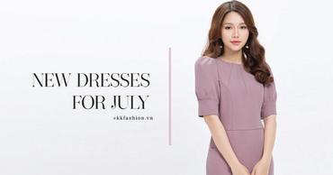 """Duyên dáng những ngày cuối hè cùng BST """"New Dresses For July"""""""