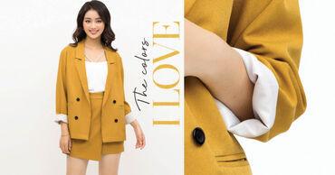 Khám phá những sắc màu mới trong BST THE COLORS I LOVE của K&K Fashion